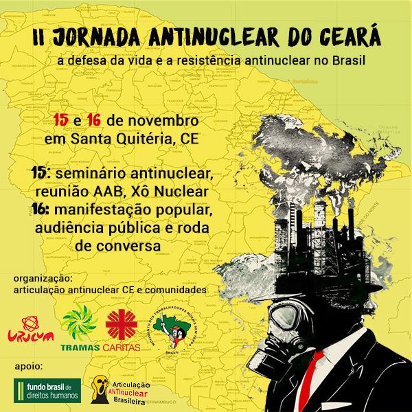 II Jornada Antinuclear do Ceará