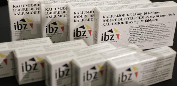 Bélgica distribui pastilhas de iodo à população contra ameaça nuclear